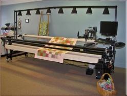 Long Arm Quilt Machine