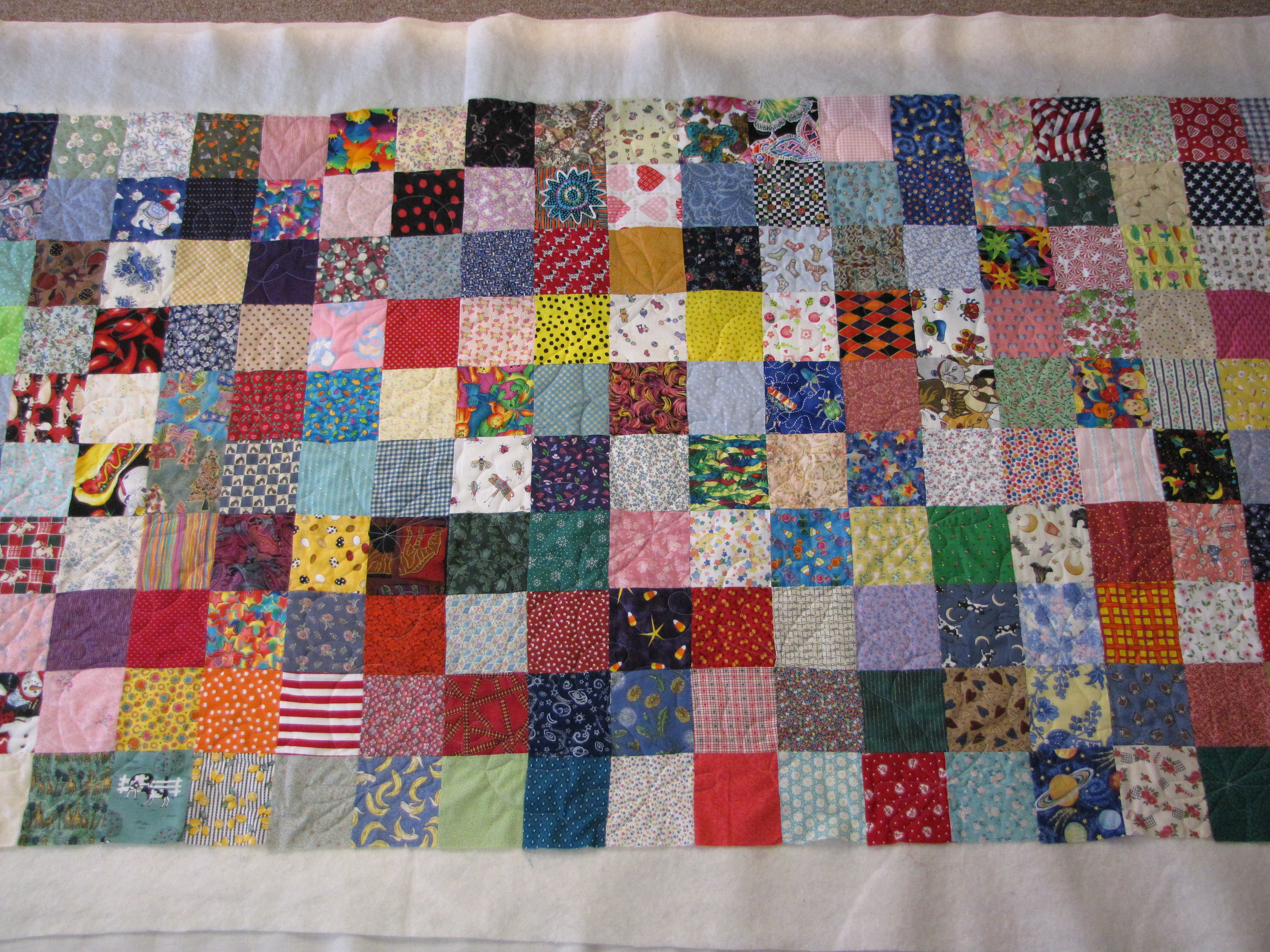 with thick tutorials diy quilt for warm beginners and the backing fleece to batting square great squares make patchwork makes easy it lovely pin needed since no