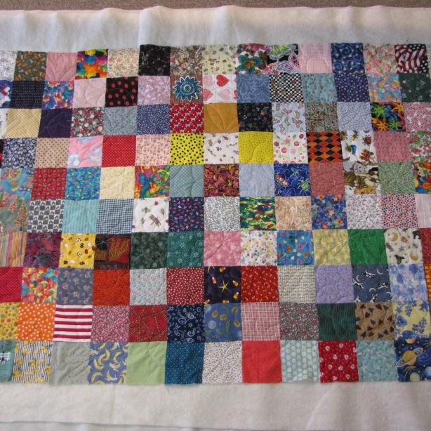 Jessie's patchwork quilt